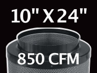 Black Ops Filter 10 inches by 24 inches 850 CFM