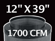 Black Ops Filter 12 inches by 39 inches 1700 CFM