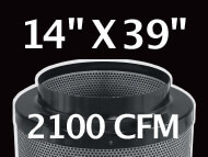 Black Ops Filter 14 inches by 39 inches 2100 CFM