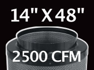 Black Ops Filter 14 inches by 48 inches 2500 CFM