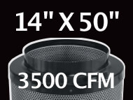 Black Ops Filter 14 inches by 50 inches 3500 CFM