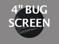 Black Ops Bug Screen 4 inches