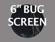 Black Ops Bug Screen 6 inches