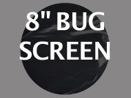 Black Ops Bug Screen 8 inches