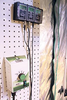 Easy to Hang Environmental Controllers like Titan Controls