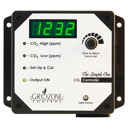 "Grozone Control SCO2 0-5000 PPM CO2 Controller ""Simple One Series"""