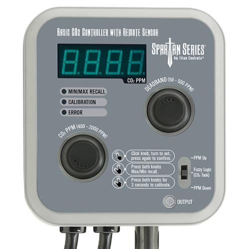 Titan Controls® Spartan Series® Basic CO2 Controller with Remote Sensor