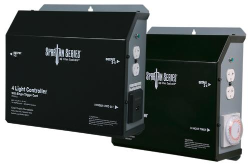 Titan Controls® Spartan Series® - Metal 4 Light 240 V Controllers