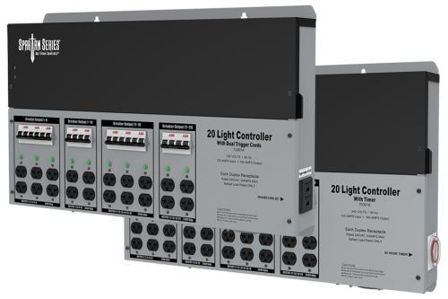 Titan Controls® Spartan Series® - Metal 20 Light 240 V Controllers