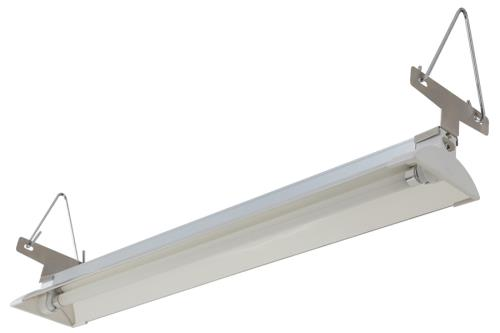 Sun Blaze® T5 HO Supreme Fluorescent Strip Light Fixture with Reflector