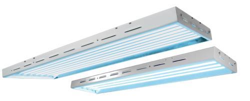 Sun Blaze® T5 HO Fluorescent Light Fixtures - 240 Volt