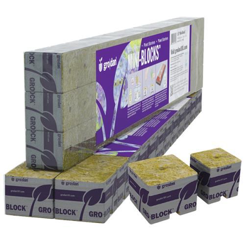 Grodan® Stonewool Delta Starter Mini-Blocks™