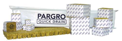 Grodan® Pargro Quick Drain™ Stonewool