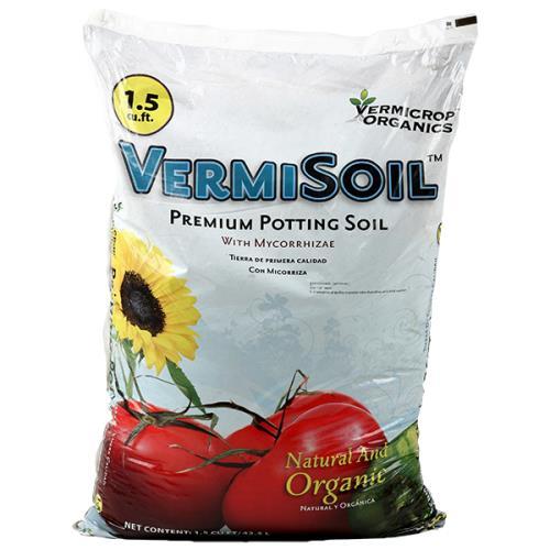 Vermicrop Organics® VermiSoil™ Premium Potting Soil