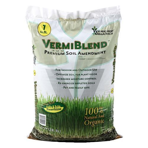 Vermicrop® VermiBlend™ Premium Soil Amendment  1.0 - 1.5 - 0.6
