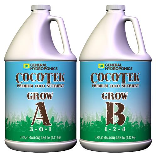 General Hydroponics® CocoTek® Grow - A 3 - 0 - 1 & B 1 - 2 - 4