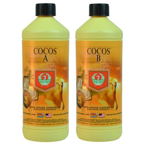 House & Garden Cocos® A 0.3 - 0 - 0.3 & B  0.1 - 0.3 - 0.6