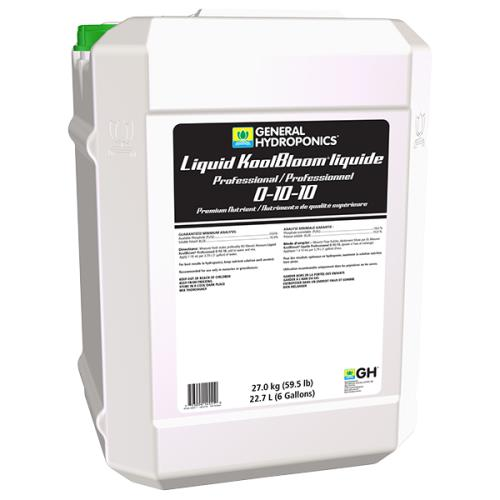 General Hydroponics® Liquid KoolBloom® Professional  0 - 10 - 10