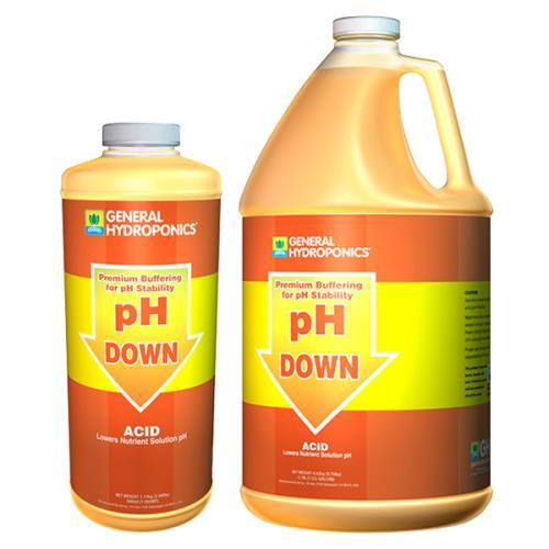 General Hydroponics® pH Down Liquid