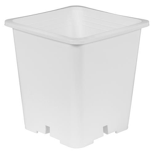 Gro Pro® Premium White Square Pots
