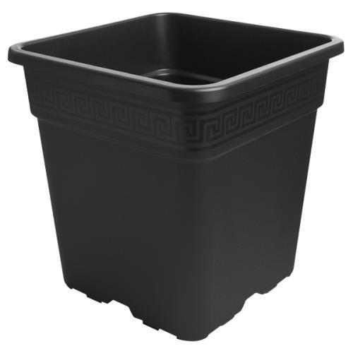 Gro Pro® Black Square Pots