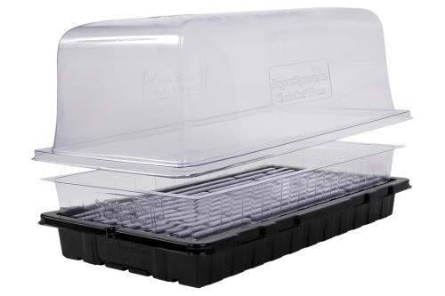 Super Sprouter® Clear Cut Dome, Tray Insert & Tray System