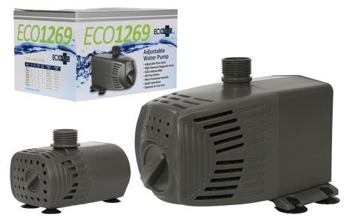 EcoPlus® Adjustable Flow Submersible or Inline Water Pumps