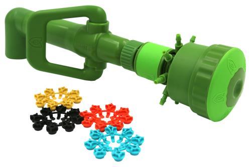 FloraFlex® Quick Disconnect Pipe Systems - Multi Flow Bubbler