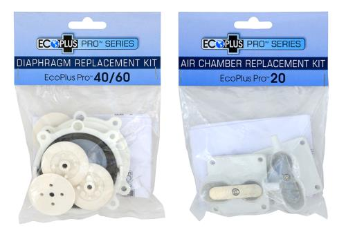 EcoPlus® Pro Linear Air Replacement Diaphragm Kit & Air Chamber Kits
