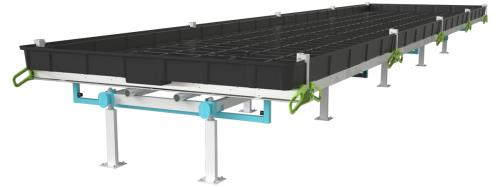Botanicare® 5 ft Slide Bench System Bulk