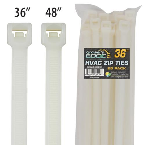 Grower's Edge® HVAC Zip Ties