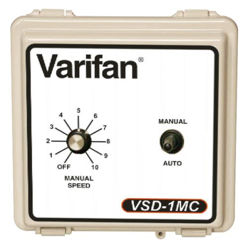 Vostermans Varifan Variable Speed Drive with Manual Override