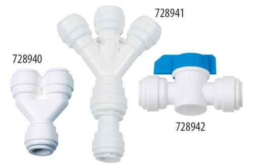 Hydro-Logic® QC Fittings - 3/8 in