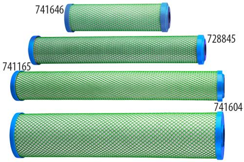 Hydro-Logic® Green Coconut Carbon Filters