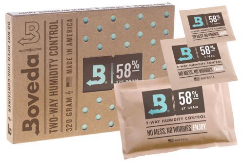 Boveda® 2-Way Humidity Packs 58%