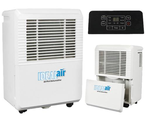 Ideal-Air™ Dehumidifiers 30, 50 & 80 Pint