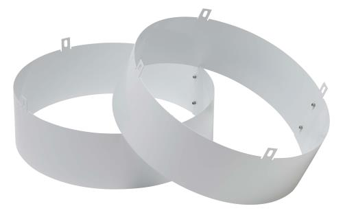 Quest Supply Air Duct Collars for Overhead Dehumidifiers