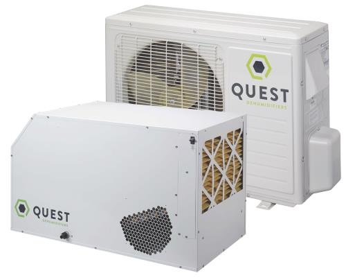 Quest Split System Dehumidifier 185 Pint