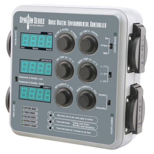 Titan Controls® Spartan Series® Basic Digital Environmental Controller