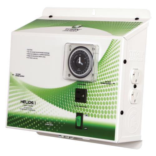 Titan Controls® Helios® 1 - 4 Light 120 V Controller with Timer