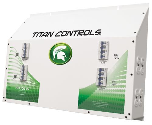 Titan Controls® Helios® 13 - 16 Light 240 V Controller with Timer