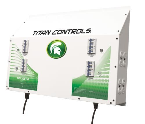 Titan Controls® Helios® 16 - 16 Light 240 V Controller with Dual Trigger Cords