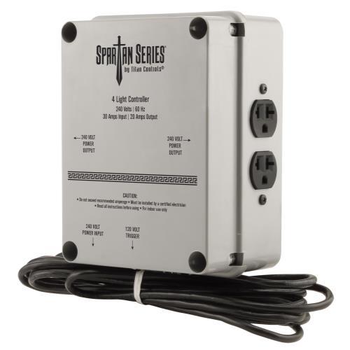 Titan Controls® Spartan Series® 4 Light 240 V Controller