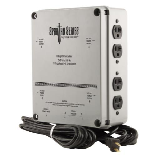 Titan Controls® Spartan Series® 8 Light 240 V Controller