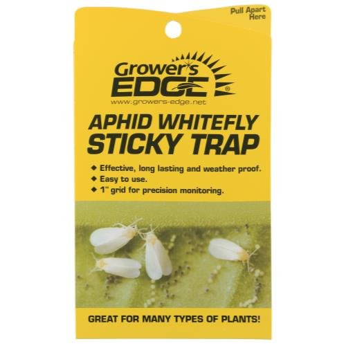 Grower's Edge® Aphid Whitefly Sticky Traps