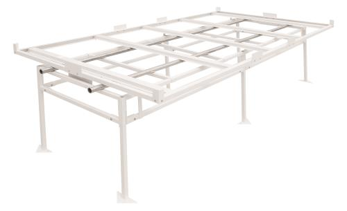 Fast Fit® Rolling Bench Tray Stand 4 ft x 8 ft