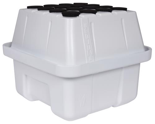 EZ-Clone® Low Pro Lid and Reservoirs White