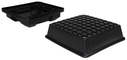 EZ-Clone® Low Pro Lid and Reservoirs Black