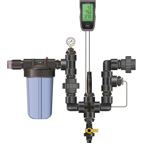 "Dilution Solutions Nutrient Delivery System (NDS) Monitor Kit – 1 ½"" (HYKMON150)"