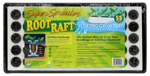 Super Sprouter® Root Raft® Floating Plug Tray